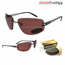 SERENGETI ROGGIA SUNGLASSES PHOTOCHROMIC POLARIZED GUNMETAL BLACK ROSE 7079