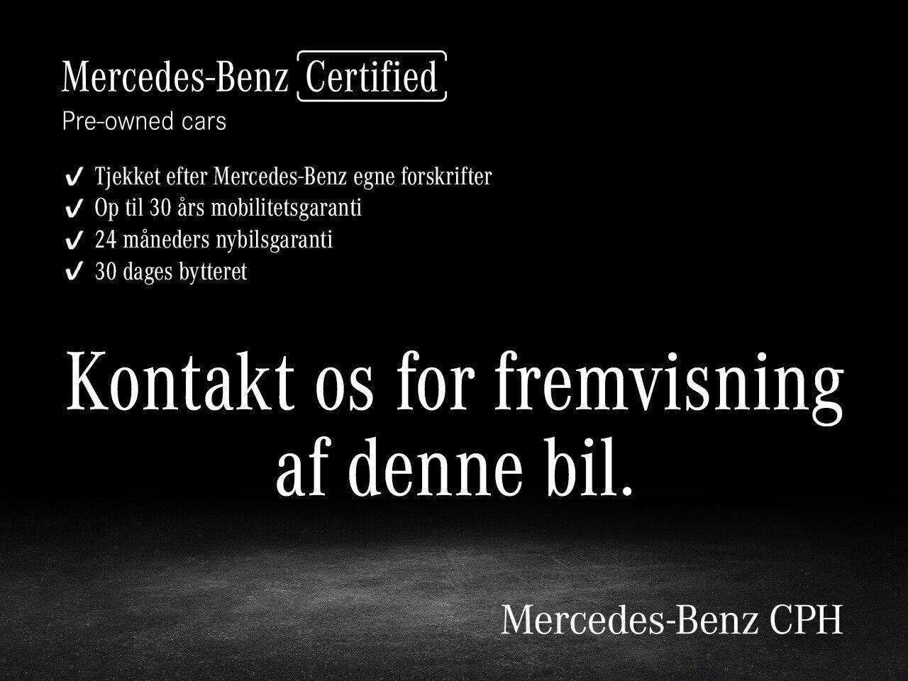 Mercedes CLA200 1,3 Advantage aut. 4d - 434.900 kr.