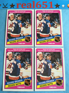 1984-O-Pee-Chee-392-PAT-LaFONTAINE-Rookie-Lot-x-8-OPC-RC-Islanders-Sabres-HOF