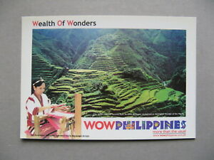 PHILIPPINES-ill-prestamped-PC-mint-food-rice-weaving-textile