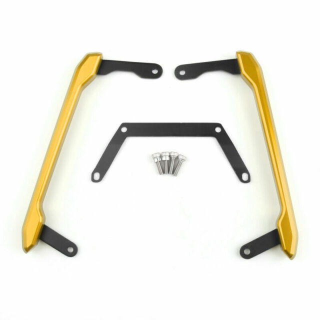 CNC Rear Passenger Seat Hand Rail Pour Yamaha MT-09 MT09 2014-2015 Gold A