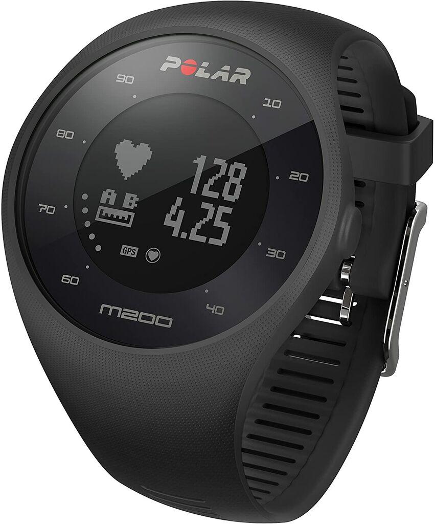 Polar M200 GPS Running Watch With Wrist-Based Heart Rate Monitor Black 90061200 | Ebay