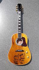 RGM95 John Lennon PEACE Miniature Guitar