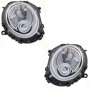 2-Front-Scheinwerfer-Mini-R55-R56-R57-10-2006-UP-Beleuchtung-Optik-Bl-Leiter