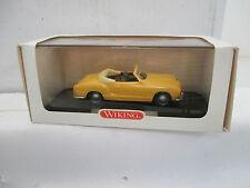 """Wiking 1/40 760 03 36 VW Karmann Ghia Cabrilolet """"manilagelb"""" WS3660"""