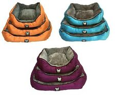 Dog Bed By Mr Barker pet nesting bed available in S.M.L and 3 colours