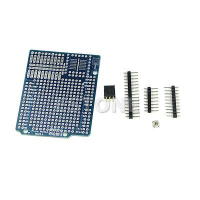 Proto Screw Shield Board For support A6 A7 Arduino Compatible Improved version