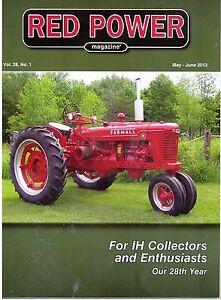 Metro Bodies 1955-1972 Farmall 806 Tractor International Harvester IH Planters