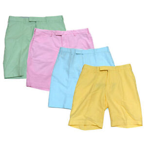 Polo-Ralph-Lauren-Mens-Classic-Fit-Shorts-Casual-Flat-Front-35-36-38-40-42-Prl
