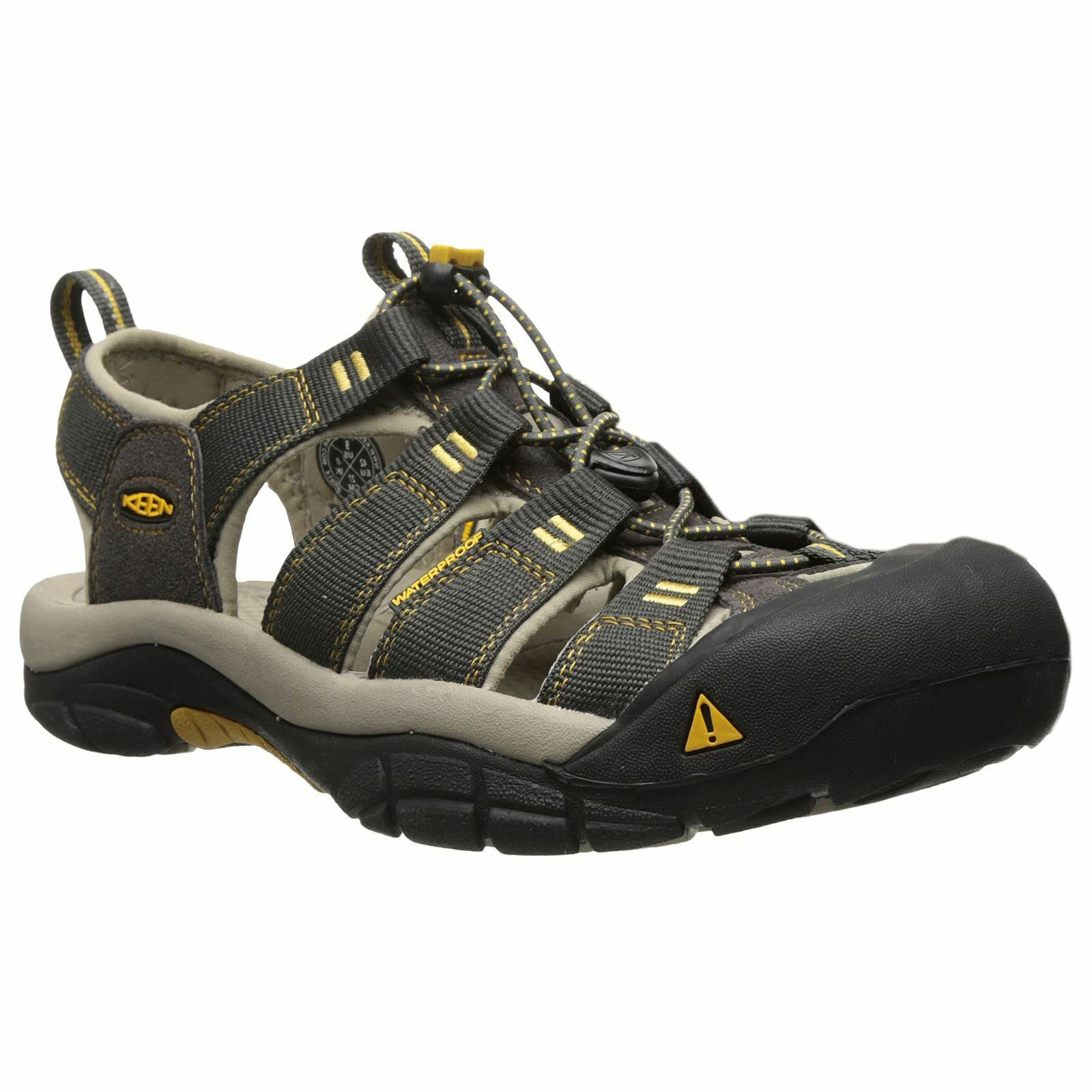 Keen Newport H2 Raven Aluminum Mens Slip -on Outdoor  Walking Trekking Sandals  grandi risparmi