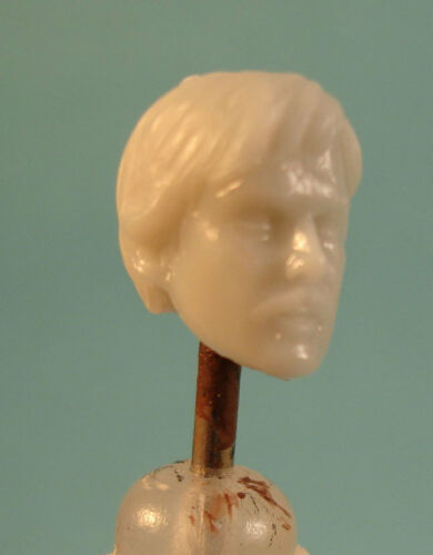 """MH160 Custom Cast Sculpt part Male head cast for use with 3.75/"""" action figures"""