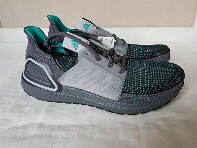 NIB Adidas EF1339 Mens UltraBoost 19 Shoes Core Black Grey Three Size 11 11.5 12   eBay