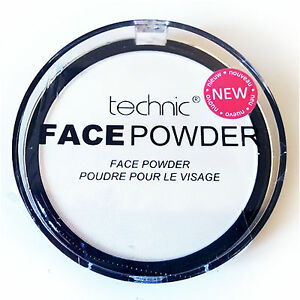 Technic-White-Face-Powder-Make-Up-Compact