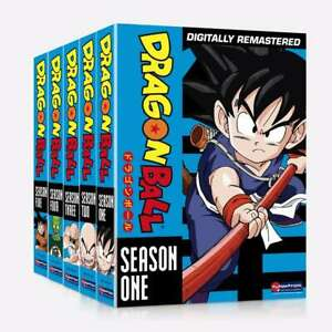 New Dragon Ball Dragonball: The Complete Series Season 1-5 (DVD 25-Disc Box Set)