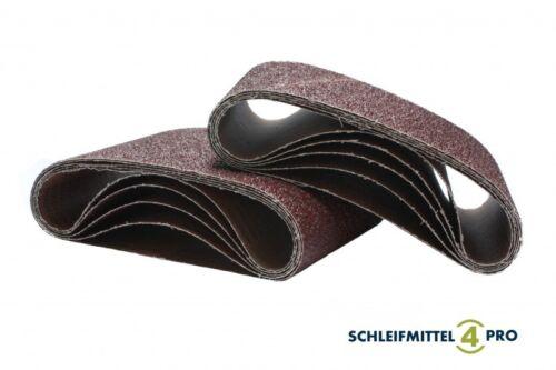 5 SANDERSHARK Schleifbänder 200x750mm Korn 24 Gewebe Schleifhülsen Top Qualität