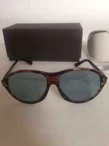 NWT-Tom-Ford-Tyler-Acetate-Oval-Frame-Blue-Tempered-Lense-Sunglass-60-mm-FT0398