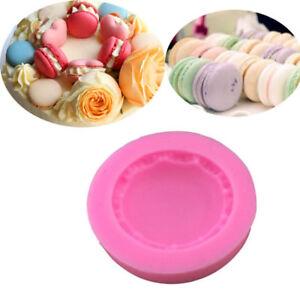 1PC-DIY-Silicone-Macaron-Macaroon-Shape-Cake-Fondant-Mold-Decor-Baking-Mould