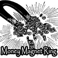Money Magnet Voodoo Blood Ore Stone Ring Spell Kit Cash Wealth Rich Lottery