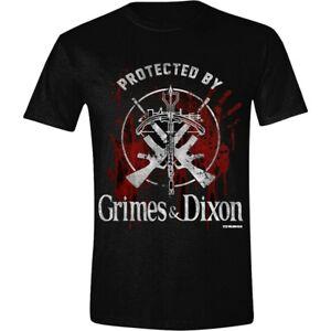 The-Walking-Dead-Grimes-Dixon-Protection-Official-Merchandise-T-Shirt-M-L-XL-Neu