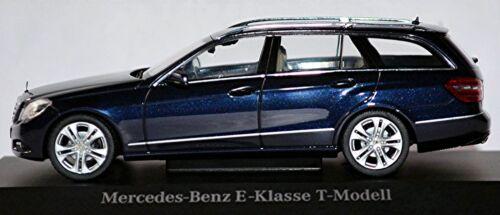 MERCEDES BENZ CLASSE E T-Modello s212-2009-13 Tanzanite Blu Blue 1:43