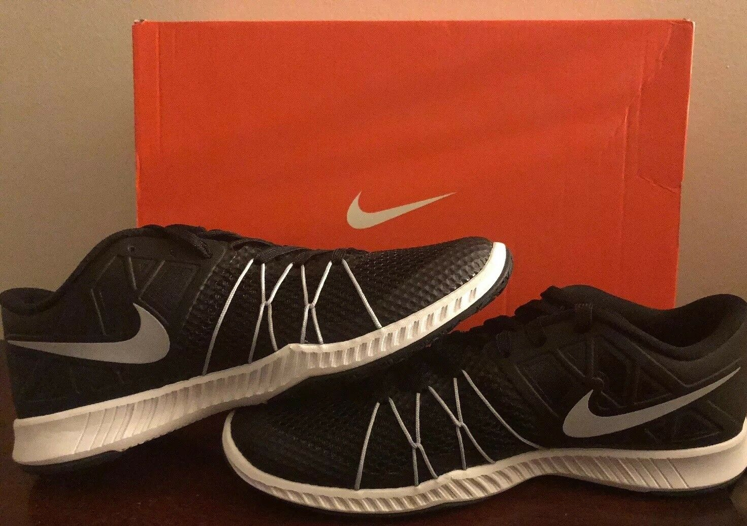 NIKE MEN'S ZOOM TRAIN INCREDIBLY FAST 844803 001 SIZE 8.5 BRAND NEW