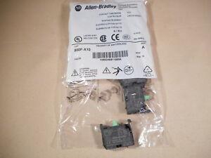 ALLEN BRADLEY 800F-X10 contact block (NIB)