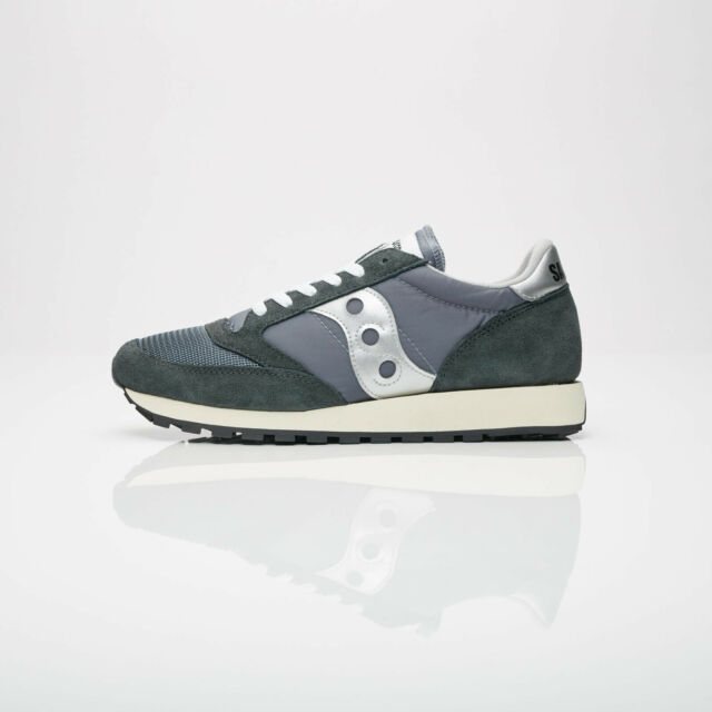 Great Saucony Navy White Mens Athletic Shoes S Original Jazz