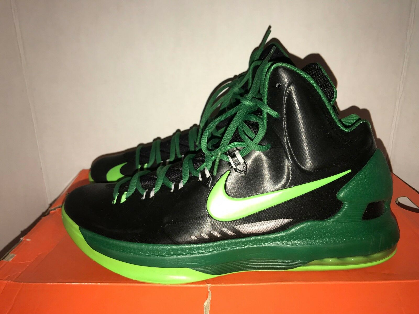 Nike Kevin Durant KD V Electric Green Men's Size 10.5 DS 583111 004
