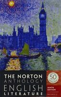 The Norton Anthology Of English Literature (ninth Edition) (vol. Package 2: D, on sale