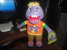 "Chuck E Cheese Mr MUNCH! Limited Soft Plush Doll New 11"""