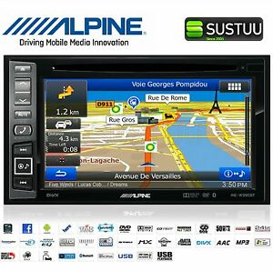 alpine ine w990bt doppel din gps navi auto stereo radio. Black Bedroom Furniture Sets. Home Design Ideas
