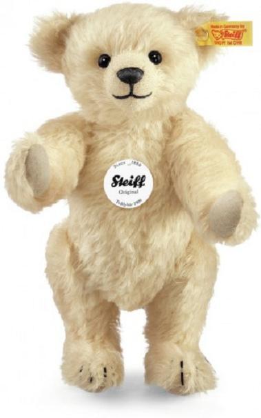 NEW Steiff Luxury CLASSIC 1909 1909 1909 TEDDY BEAR VANILLA + Steiff Gift Box Teddy 000157 3daec8