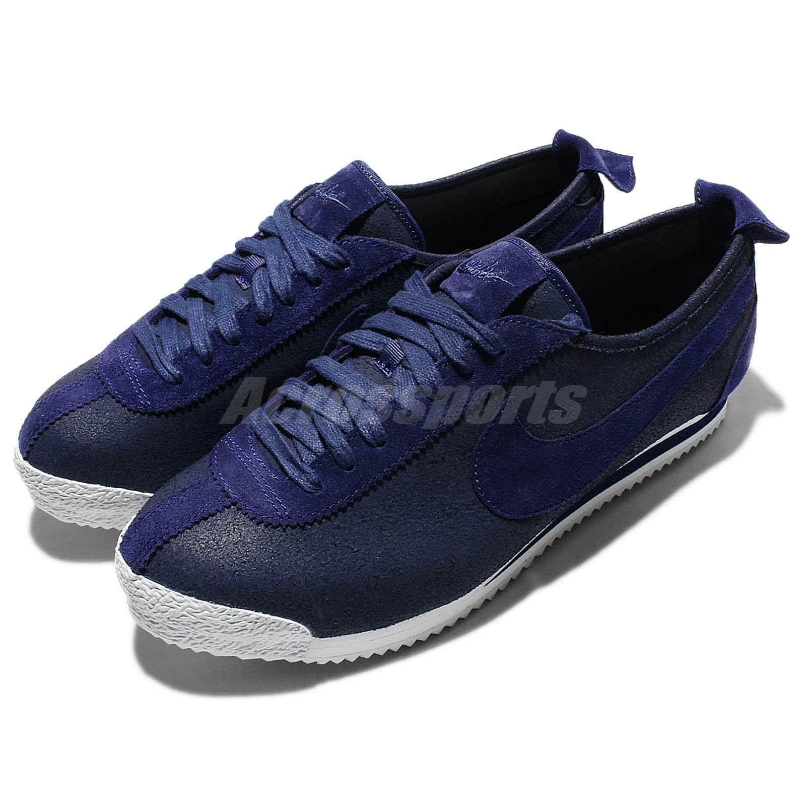 Nike Cortez 72 Loyal bleu blanc  Hommes Suede Casual Chaussures Sneakers 863173-400