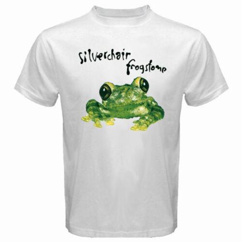 New SILVERCHAIR FROGSTOMP Rock Band Men/'s White T-Shirt Size S 3XL