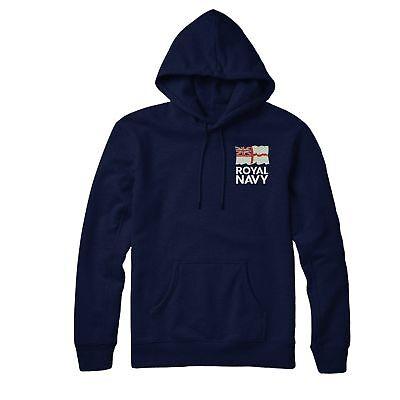 British Army Logo Felpa con cappuccio Esercito Britannico ha ispirato ricamato Felpa Con Cappuccio Top