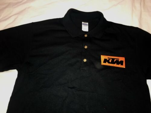 KTM motorbike motorcycle polo shirt Embroidered Patch