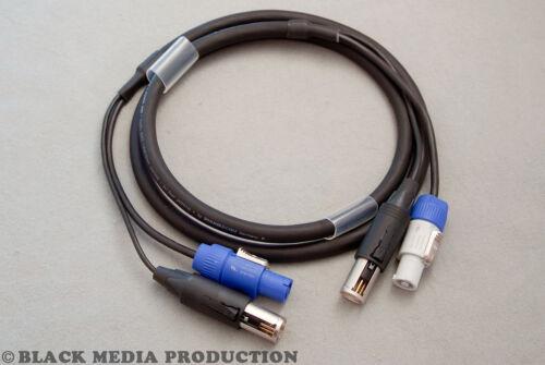 ConvertCon 3Pol3m *NEU* Hybridkabel SC-Monolith 1 Power DMX//XLRPowerCon