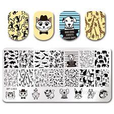 BORN PRETTY Nail Art Stamp Plate Manicure Image Template DIY Cute Animal BPL-63