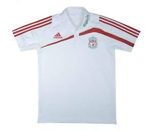Liverpool 2009-10 ORIGINALE POLO (eccellente) L soccer jersey