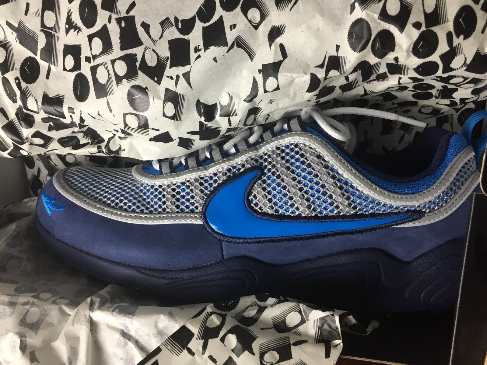 DS 2017 Nike Air Zoom Spiridon '16 x STASH (AH7973-400) Size 12