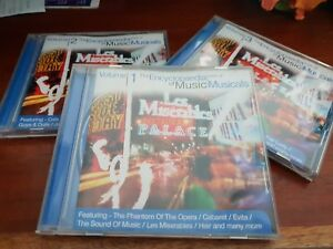 Details about The Encyclopedia of Music - Best Musicals - Volumes 1,2 3 -  MUSIC CDS- FREE POST