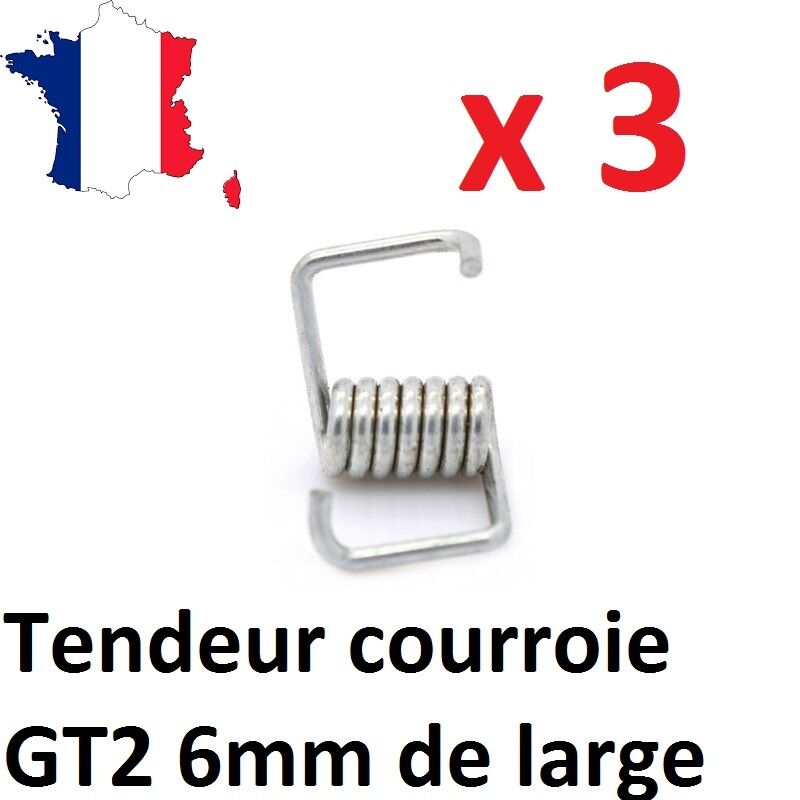 Lot Of 3 Tensioners Belt/Strap GT2 6mm for Printer 3D, Anet A8, CNC, DIY