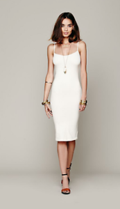 NEW-Free-People-Intimately-Tea-Length-Seamles-Slip-Dress-in-Ivory-XS-S-M-L-45-03