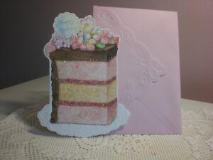 Carols Rose Garden Happy Birthday A Yummy Slice Of Cake On The