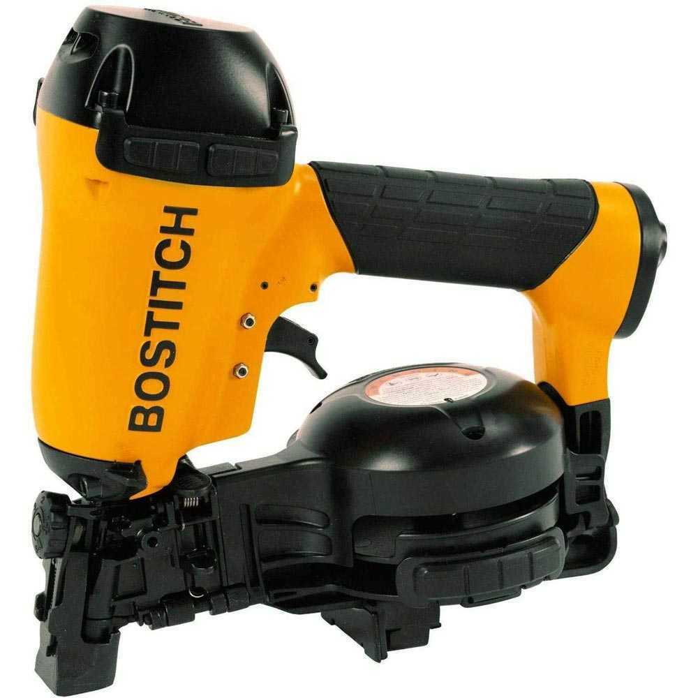 RN46-1 tools-plus-outlet Bostitch RN46-1 3/4 to 1-3/4 15 Deg. Coil Roofing Nailer