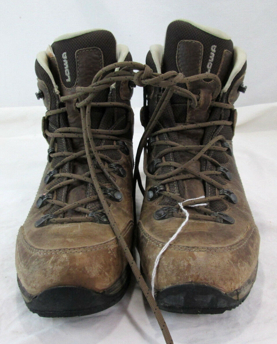 Lowa Hudson Damens 6.5 Mid high Hiking Boot Braun Leder shoe