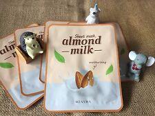 Asian Skincare [MISSHA] Moisturising Almond Milk Face Sheet Mask x1pc -Korean-