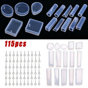 Diy Crafts Jewelry Making Pendant Silicone Resin Mould