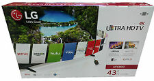 "LG 43"" 43UF6800 4K ULTRA HD 120Hz WIFI SMART IPS LED TV"