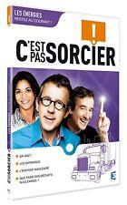 """20157//DVD C'EST PAS SORCIER -LES ENERGIES NEUF DEBALLE 4 X 26"""" SLIM"""